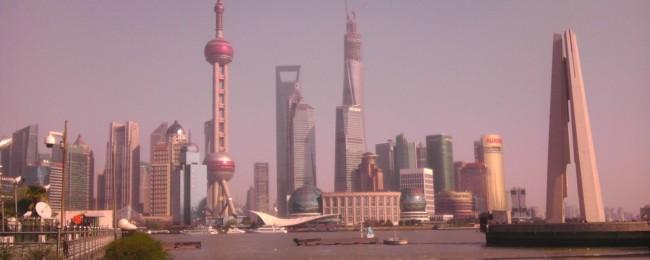 Skyline Shanghai April 2014