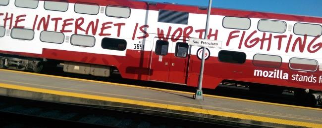 Mozilla train car