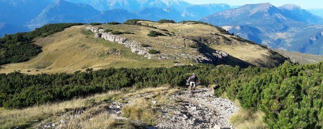 Mountains around Lago di Garda